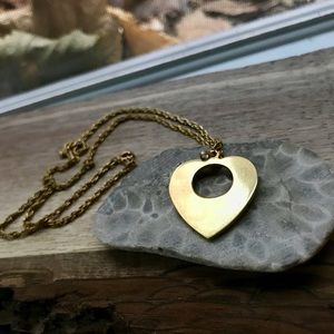 Heart Shaped Vintage Necklace
